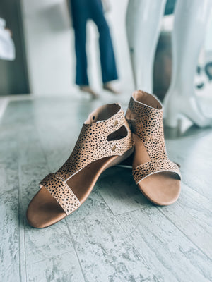 Corky speckled shoes