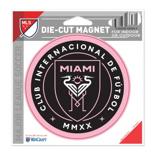 Inter Miami CF Die-Cut Magnet - 4.5