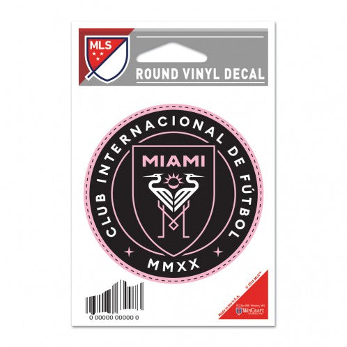 Inter Miami CF Round Vinyl Decal - 3