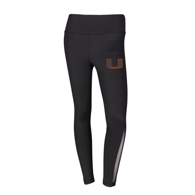 Miami Hurricanes Velocity Ladies' Knit Legging