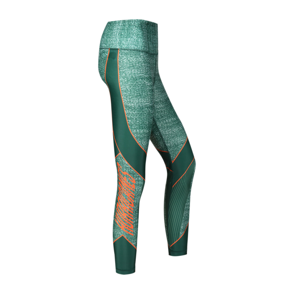 Miami Hurricanes Women's Infuse Sublimated Knit Leggings