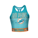 Miami Dolphins Women's Infuse Sublimated Sports Bra