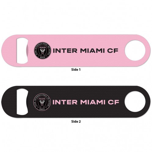 Inter Miami CF 2-Sided Bottle Opener - Black/Pink