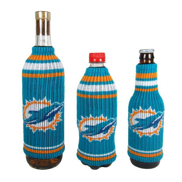 Miami Dolphins Krazy Kover Coozie - CanesWear at Miami FanWear Tailgate Gear Kolder CanesWear at Miami FanWear