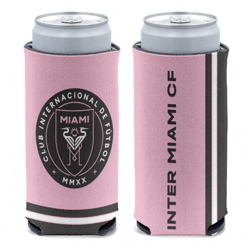 Inter Miami CF 2-Sided Slim Can Cooler - 12 oz.