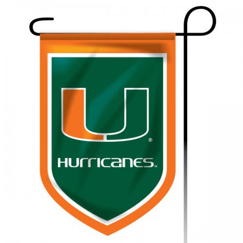 Miami Hurricanes Garden Flag 11