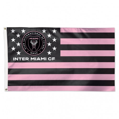Inter Miami CF 3' x 5' Deluxe Stars & Stripes Flag