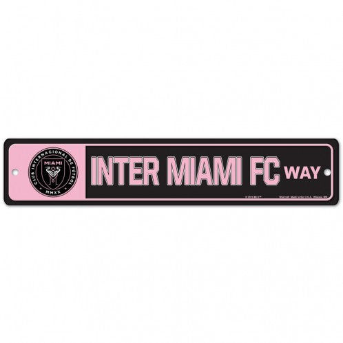 Inter Miami CF Street/Zone Sign - 3.75