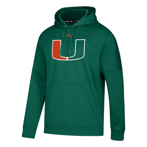Miami Hurricanes adidas 2018 Youth Football Jersey - Green