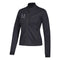 Miami Hurricanes adidas Women's Top Logo Moto Jacket - Black