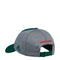 Miami Hurricanes adidas Spring Game Two Tone Adjustable Slouch Hat - Green/Gray
