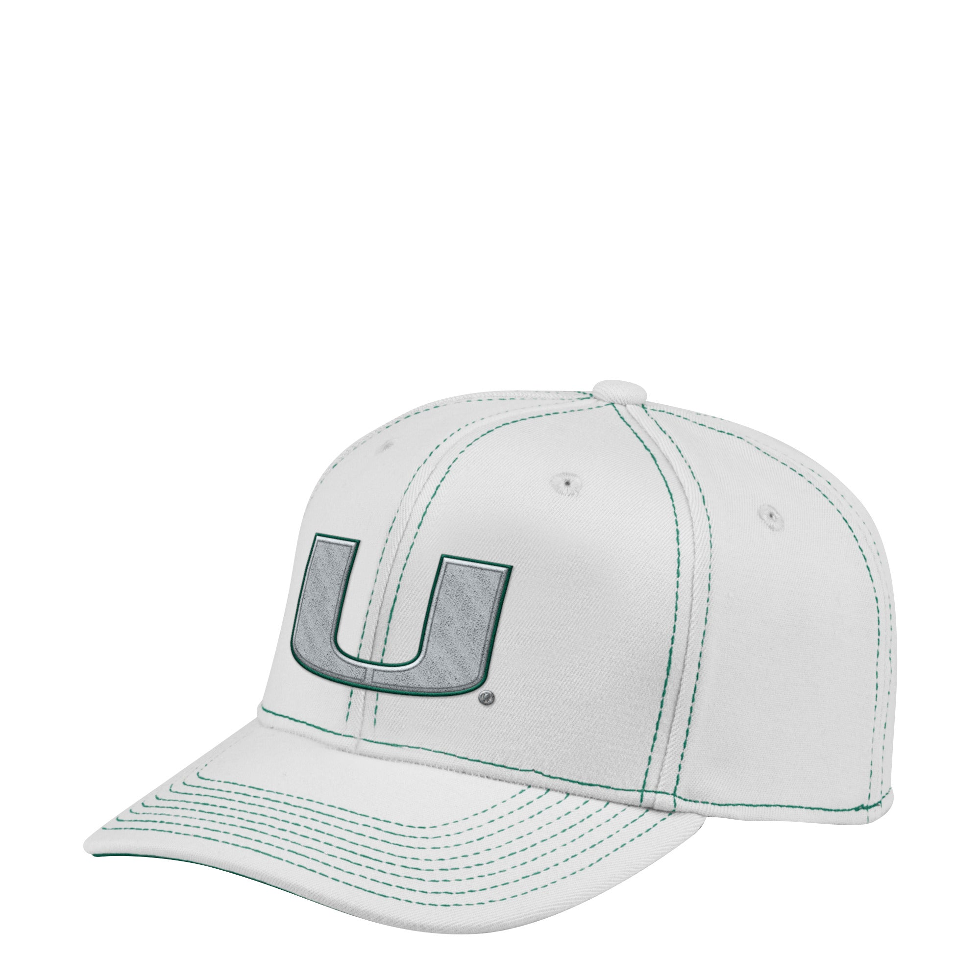 5a7be5cf1abce Miami Hurricanes adidas 2018 Structured Flex Team Pop Colors Hat - Gre –  CanesWear at Miami FanWear