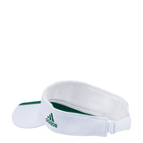 Miami Huricanes adidas 2018 Three Stripe Visor - White
