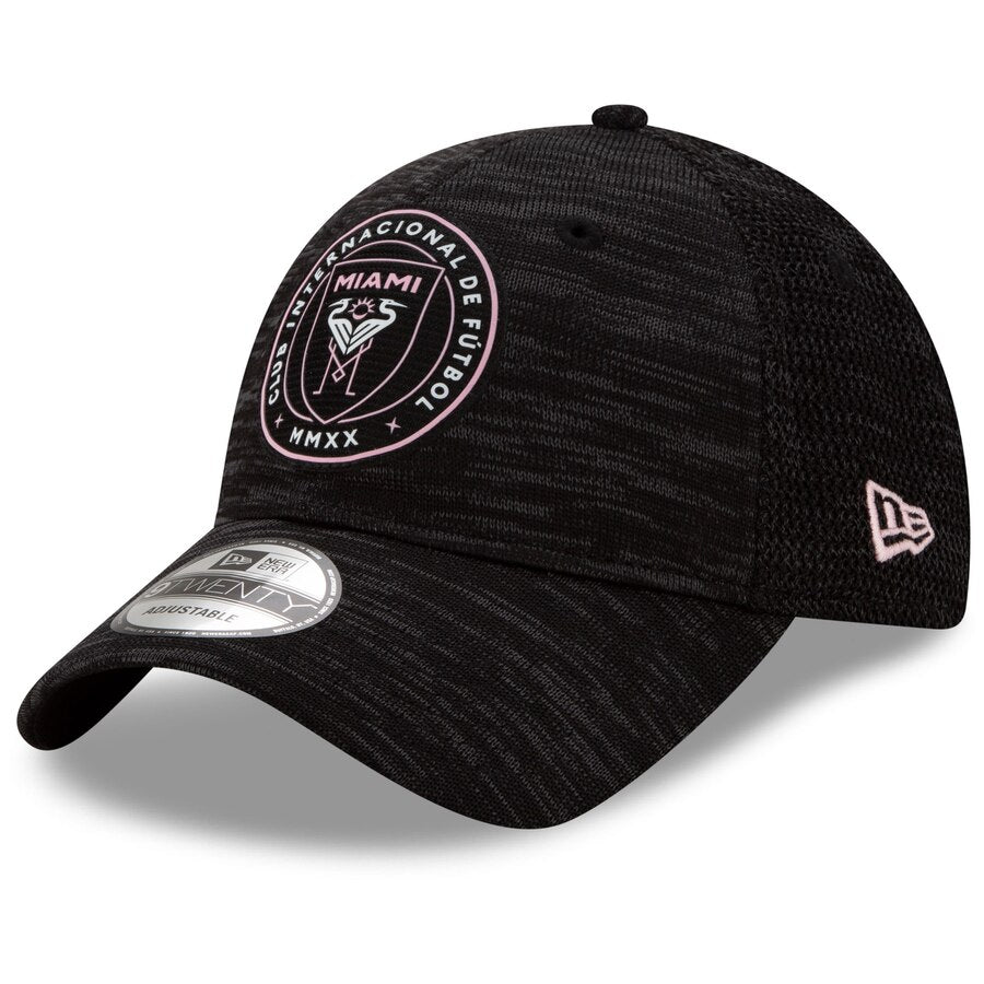 Inter Miami CF New Era 9Twenty On-Field Adjustable Hat - Black
