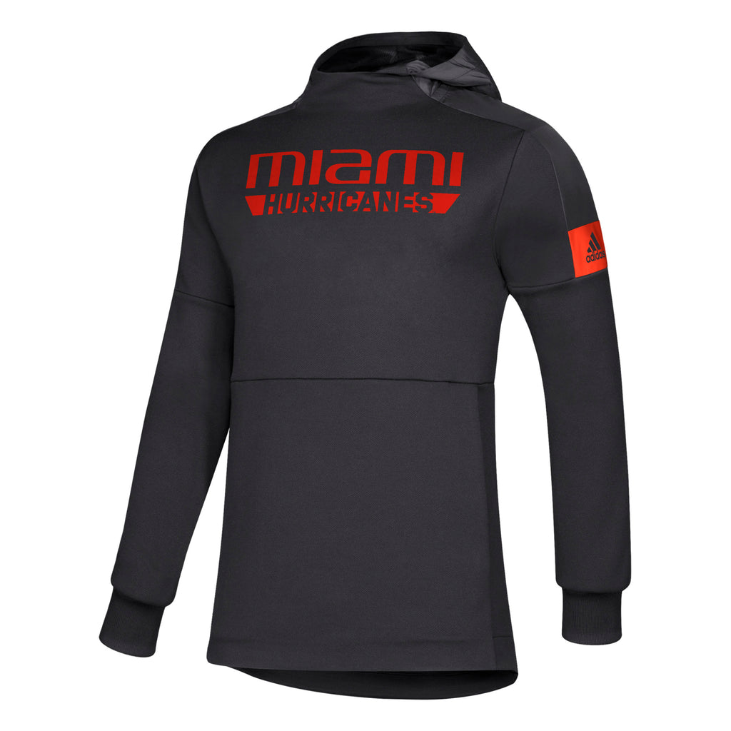 Miami Hurricanes 2019 Game Mode Pull Over - Black