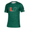 Miami Hurricanes adidas Game Mode Training Tee - Green