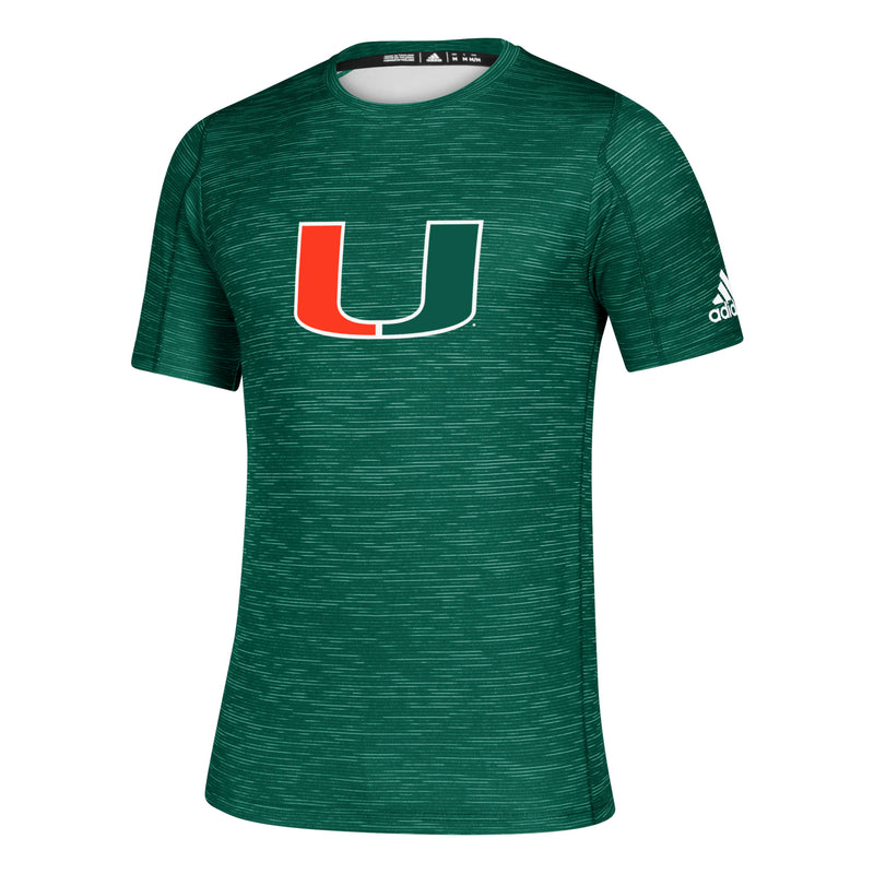 Miami Hurricanes 2019 Game Mode Training Tee - Green