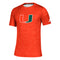 Miami Hurricanes adidas Game Mode Training Tee - Orange