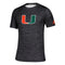 Miami Hurricanes adidas Game Mode Training Tee - Black