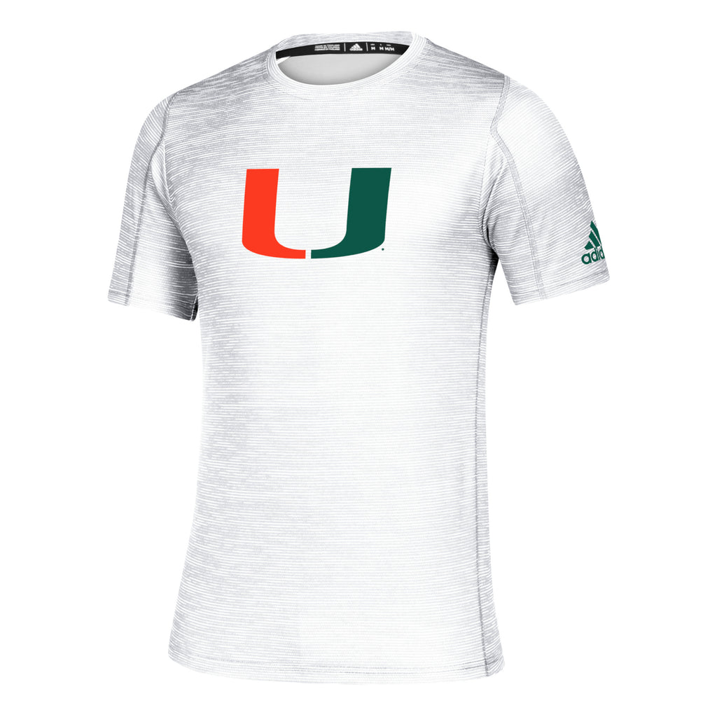 Miami Hurricanes 2019 Game Mode Training Tee - White