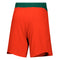 Miami Hurricanes adidas Game Mode Woven Shorts - Orange/Green