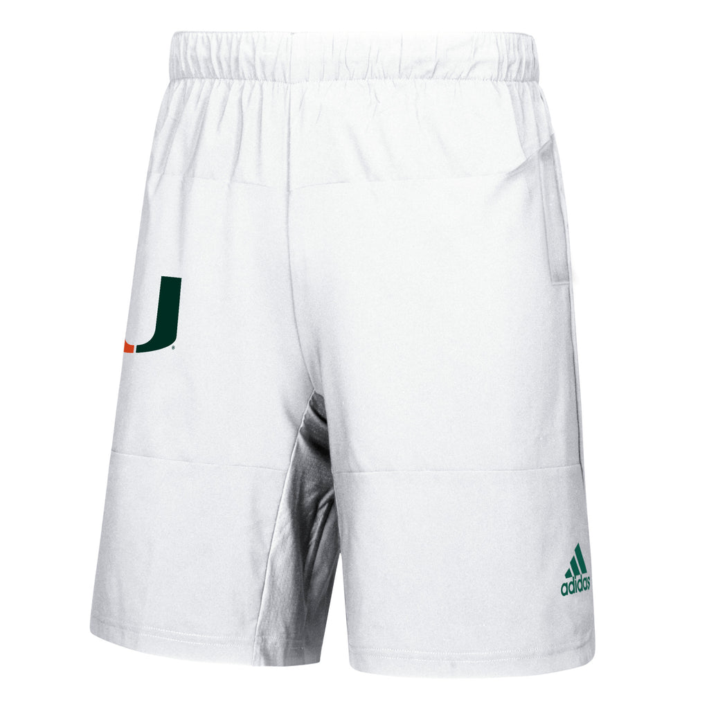 Miami Hurricanes 2019 Game Mode Woven Shorts - White