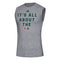 Miami Hurricanes adidas Locker It's All About the U Creator Sleeveless T-Shirt - Grey