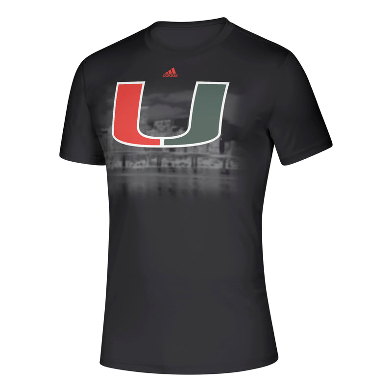 Miami Hurricanes adidas 2019 Creator SS Black Out