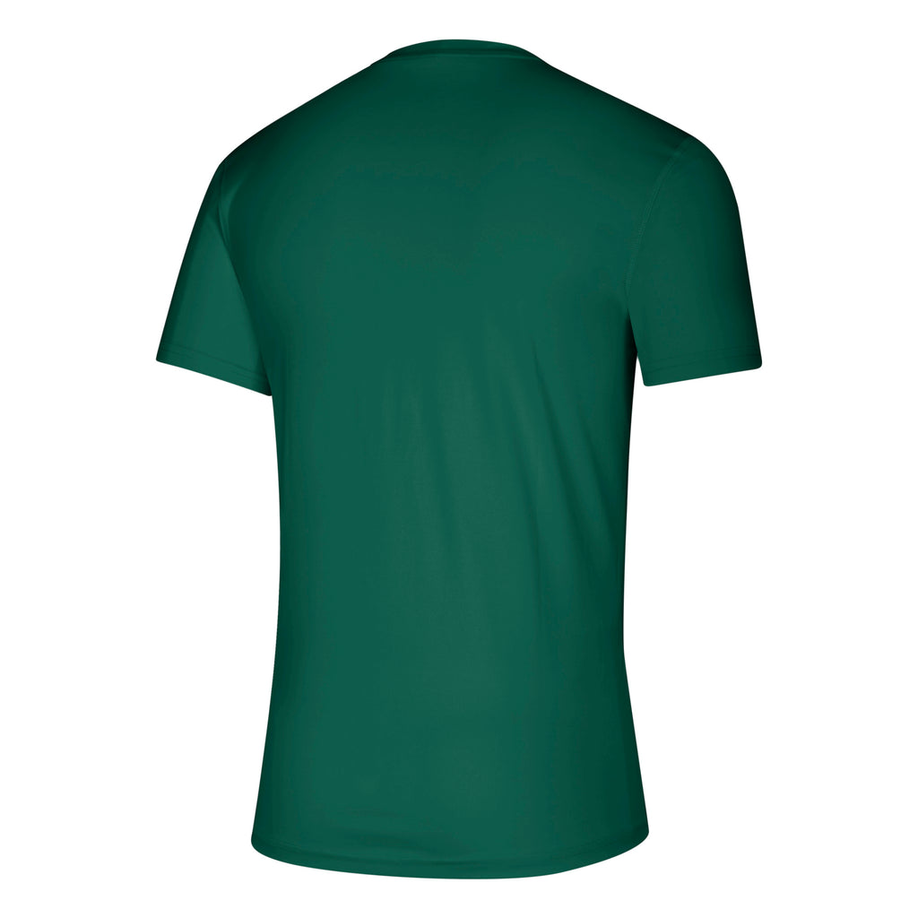 Miami Hurricanes adidas 2019 Dot Matrix U Creator T-Shirt - Green
