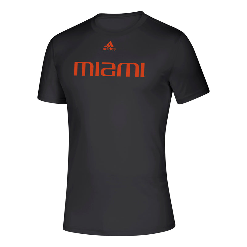 Miami Hurricanes 2019 Locker Official Font Creator T-Shirt - Black