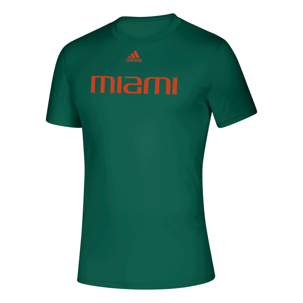 Miami Hurricanes 2019 Locker Official Font Creator T-Shirt - Green