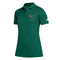 Miami Hurricanes adidas Women's Game Mode Polo - Green
