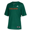 Miami Hurricanes adidas 2019 Elite Baseball Jersey - Green