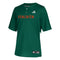 Miami Hurricanes adidas Elite Baseball Jersey - Green
