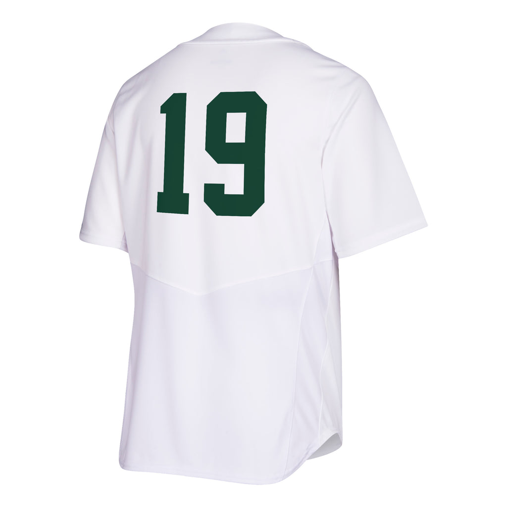 Miami Hurricanes adidas 2019 Baseball White Elite Jersey