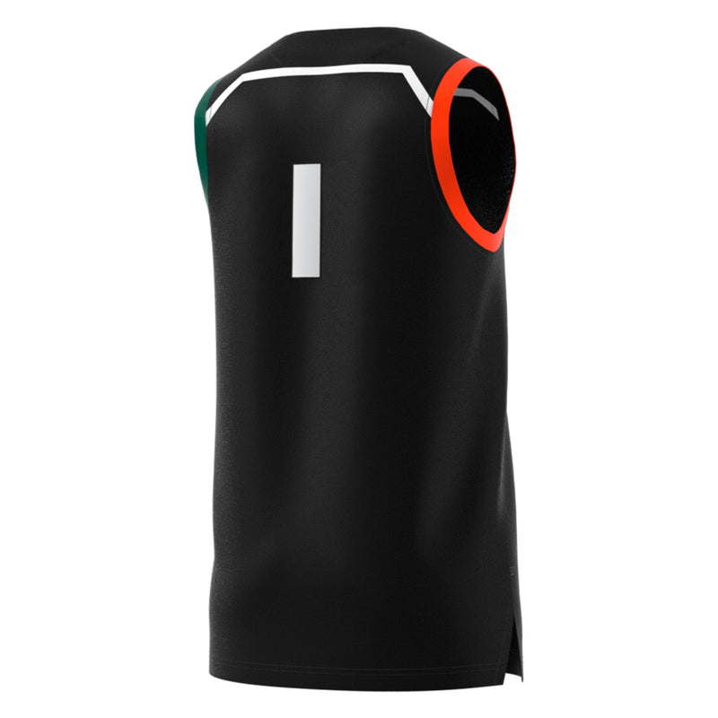 Miami Hurricanes adidas Basketball Swingman Jersey