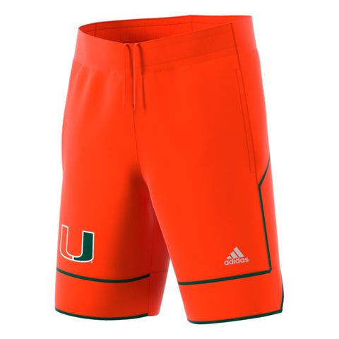 6c86698f72e10 Miami Hurricanes adidas 2018 Basketball Shorts - Orange. $ 65.00. Miami  Hurricanes adidas Women's Yoga Capri Leggings Black