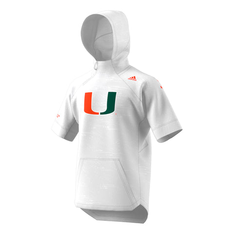 Miami Hurricanes adidas 2018 Youth Football Jersey - White