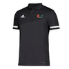 Miami Hurricanes adidas 2019 Golf Polo - Black