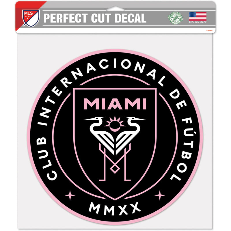Inter Miami CF WinCraft Perfect Cut Decal - 12
