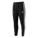 Miami Hurricanes adidas TIRO19 Tricot Tiro Pants - Black and White