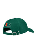 Miami Hurricanes adidas 2019 Coach Slogan Adjustable Hat - Green