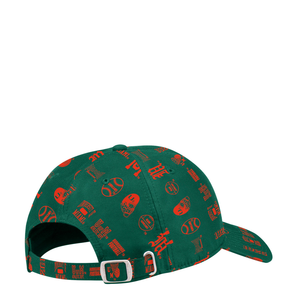Miami Hurricanes adidas 2019 Thrift Store Special Adjustable Slouch Hat