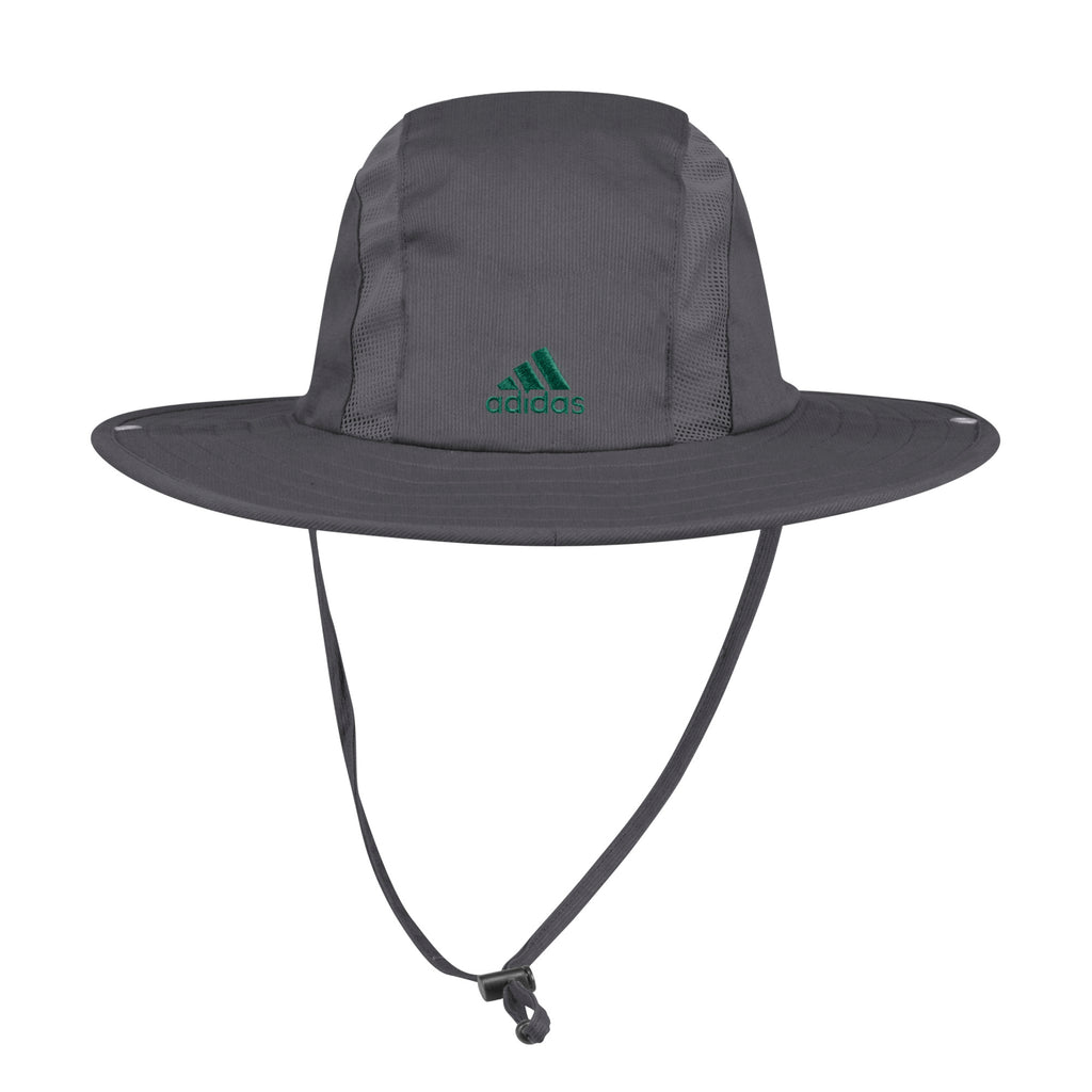 Miami Hurricanes adidas 2019 Safari Hat - Grey