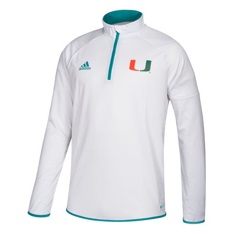 Miami Hurricanes 2018 adidas Women's Coaches Polo - Black
