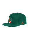 Miami Hurricanes adidas 2019 College Ultra Flat Visor Flex hat