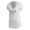 Miami Hurricanes 2019 Women's Stadium ID Winners Tee - White