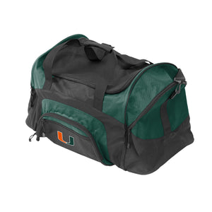Miami Hurricanes Weekender Duffel Bag - CanesWear at Miami FanWear Bags & Accessories Logo Chair CanesWear at Miami FanWear