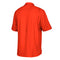 Miami Hurricanes adidas Sideline Full Button Polo - Orange