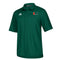 Miami Hurricanes adidas Sideline Full Button Polo - Green